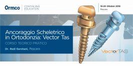 Ancoraggio Scheletrico in Ortodonzia: Vector Tas